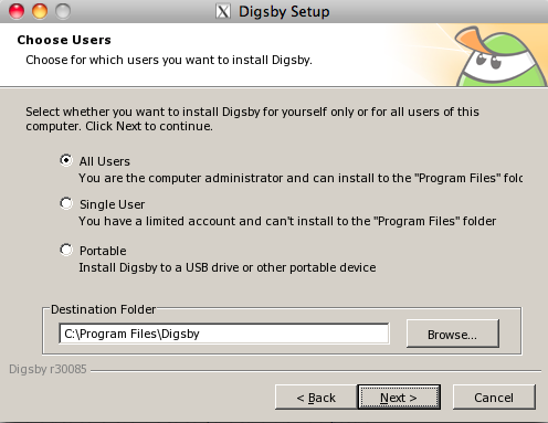 How to install Digsby on Mac (6/6)